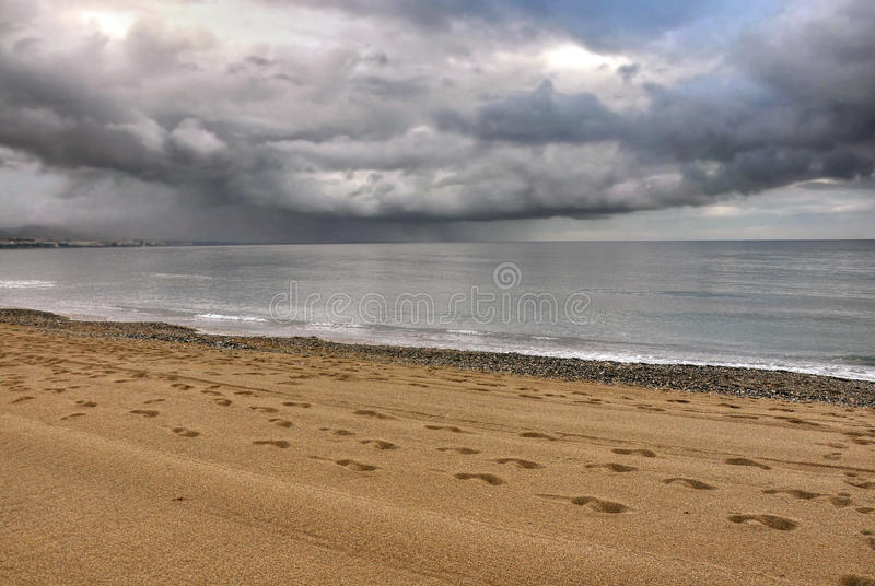 Download Storm On The Sea,Costa Del Sol Stock Photos - Image: 25506193