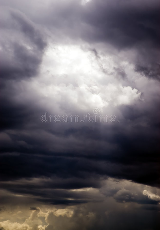 Storm sky stock images