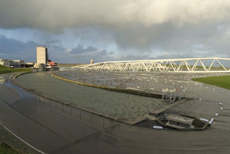 Download Storm Surge Barrier Maeslant Stock Photo - Image: 3891032