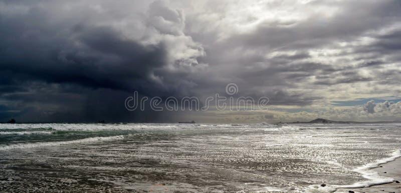 Stormachtig weer…. royalty-vrije stock afbeelding