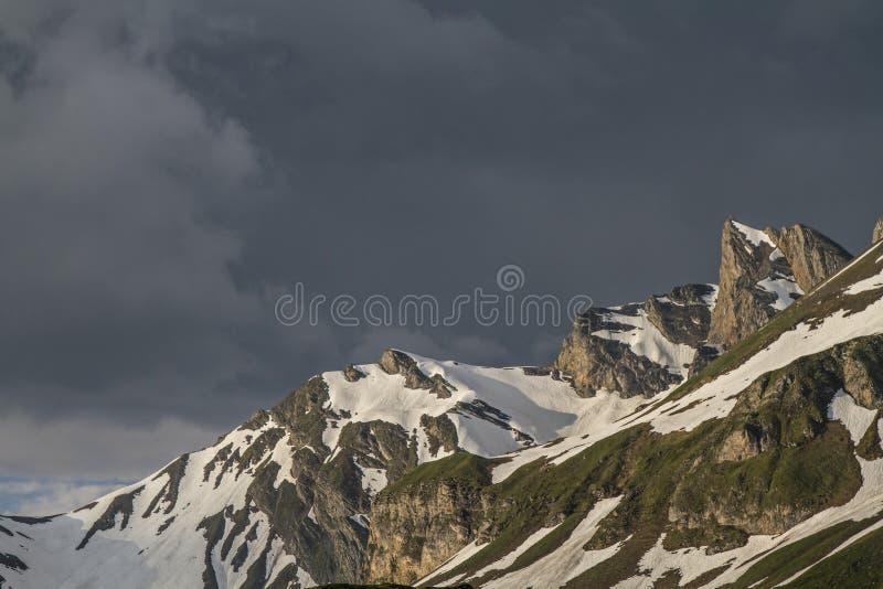 Stormachtige atmosfeer royalty-vrije stock afbeeldingen