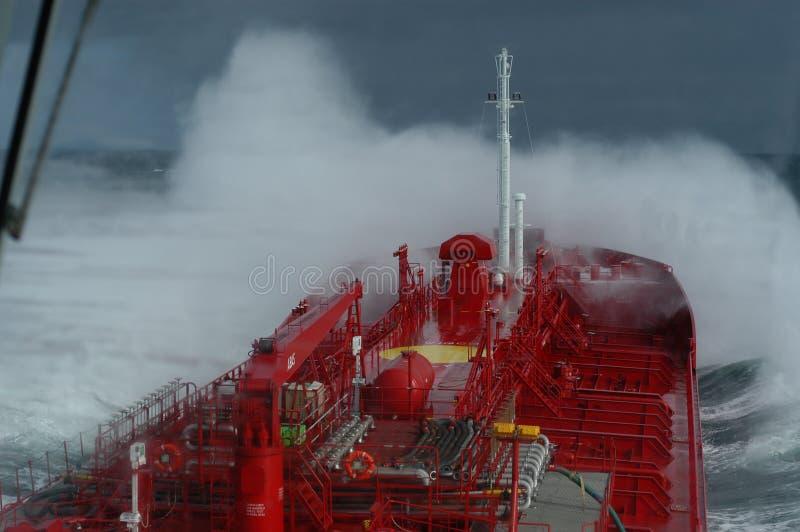 Stormachtige wateren stock foto's