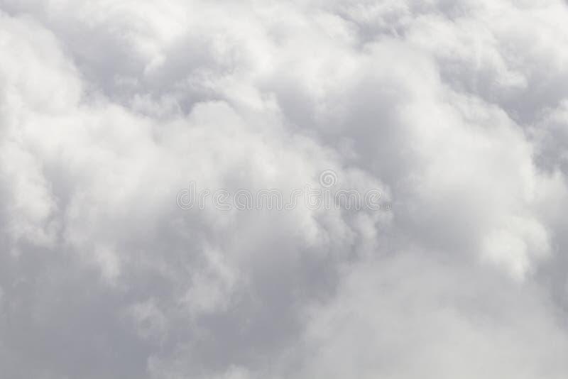 Stormachtige wolken stock afbeelding