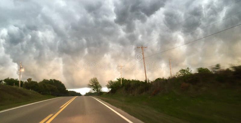 Stormapoclypse AVRIL 2016 images libres de droits