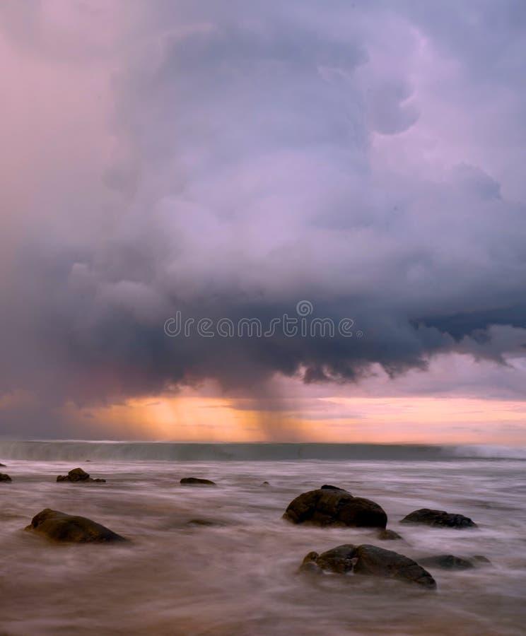 Stormclouds foto de stock
