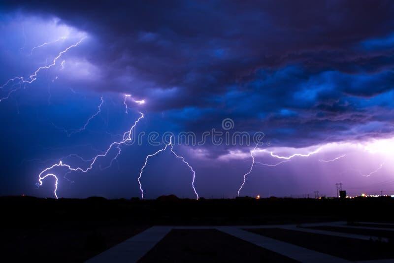 Stormen arkivfoton