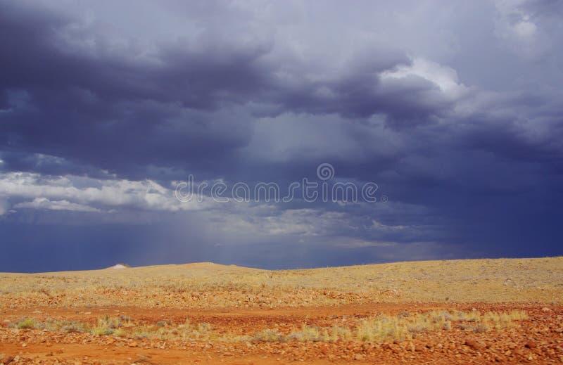 Stormig Simpson öken royaltyfria foton
