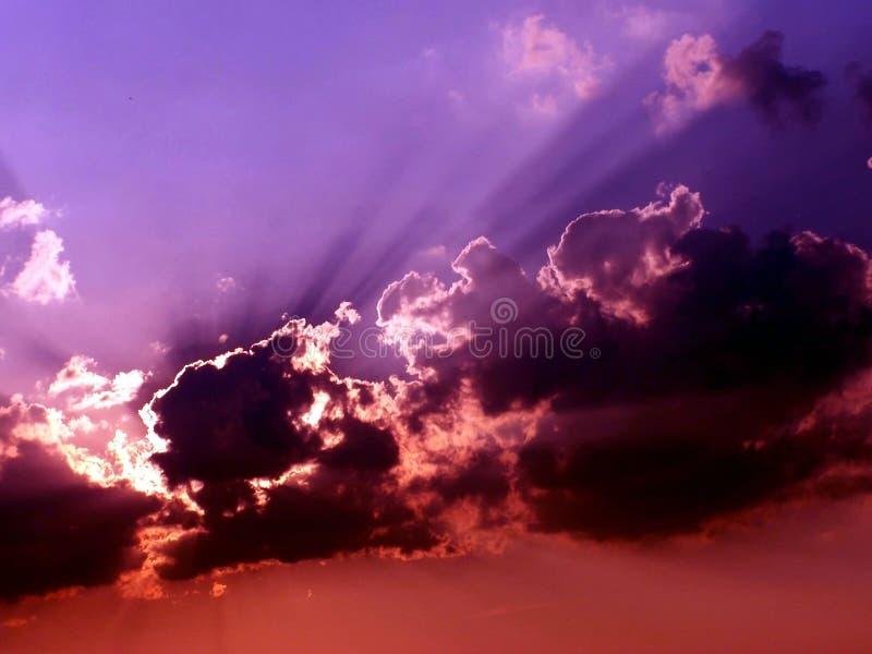 stormigt väder 4 arkivbild