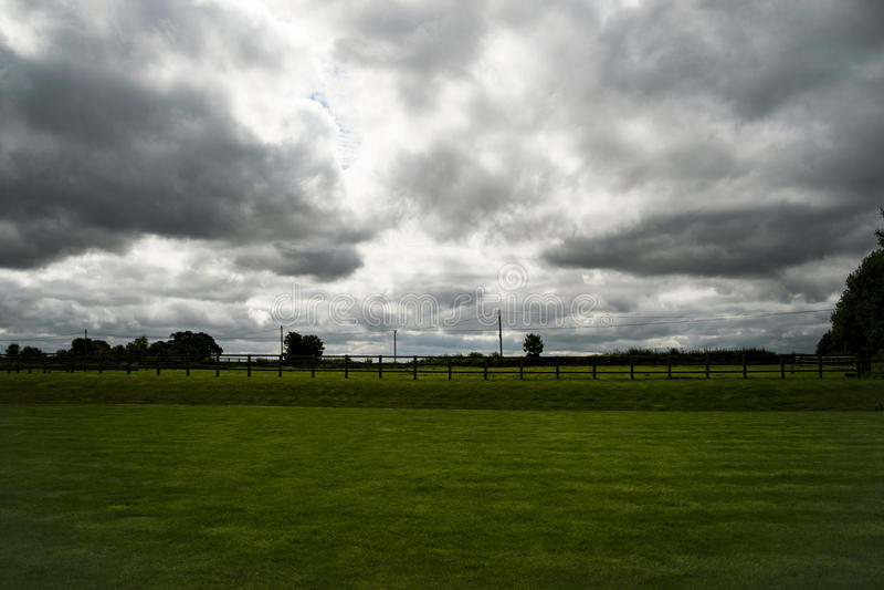 Storminflyttning royaltyfri bild