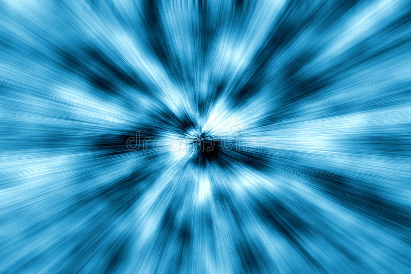 Stormloop vector illustratie