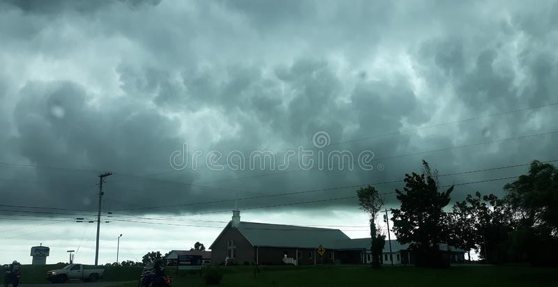 Storms.  royalty free stock image