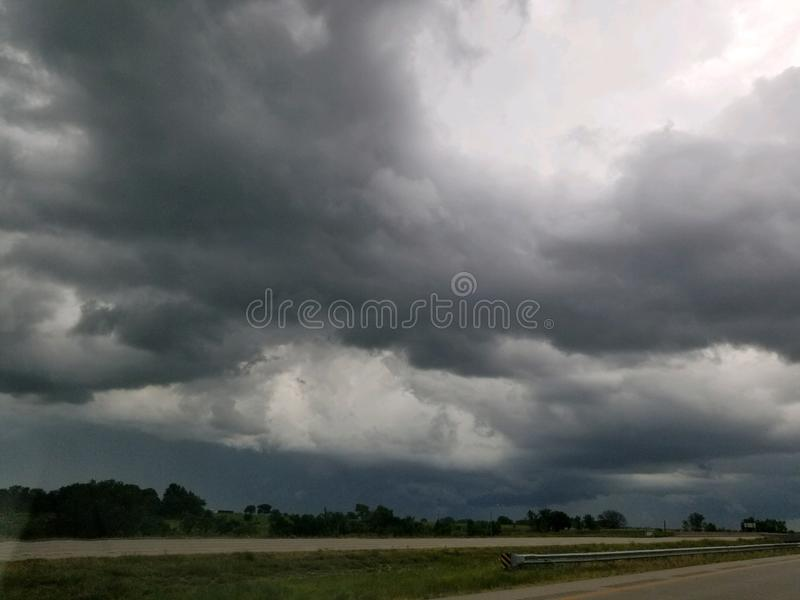 storms coming royalty free stock photo