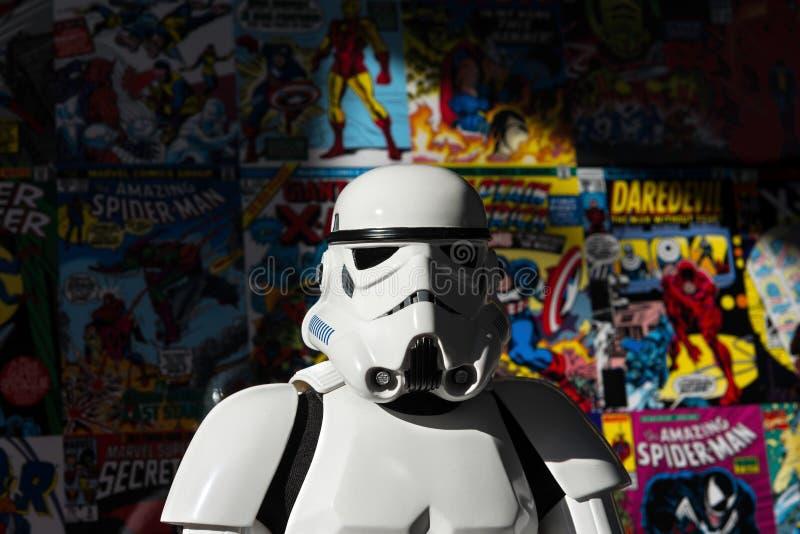 Stormtrooper de Star Wars ilustração stock