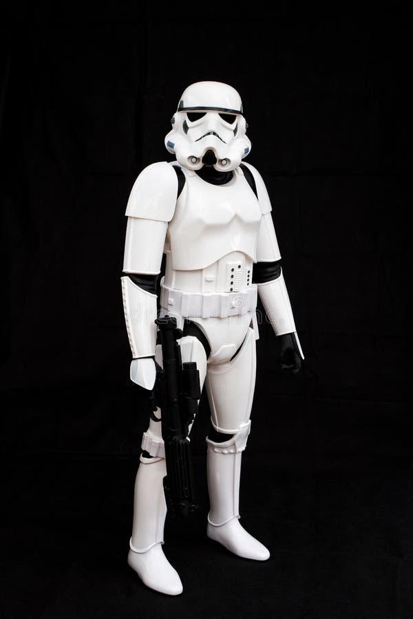 Stormtrooper de Star Wars foto de stock
