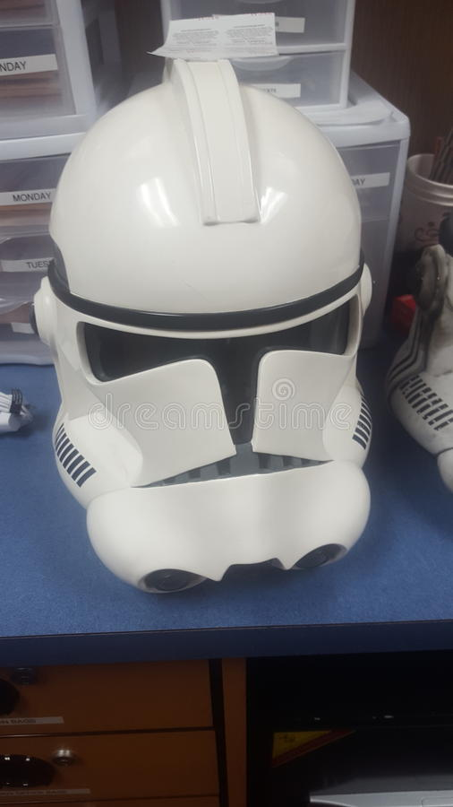 Stormtrooper royalty free stock photography