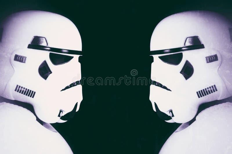 Stormtroopers Звездных войн стоковая фотография