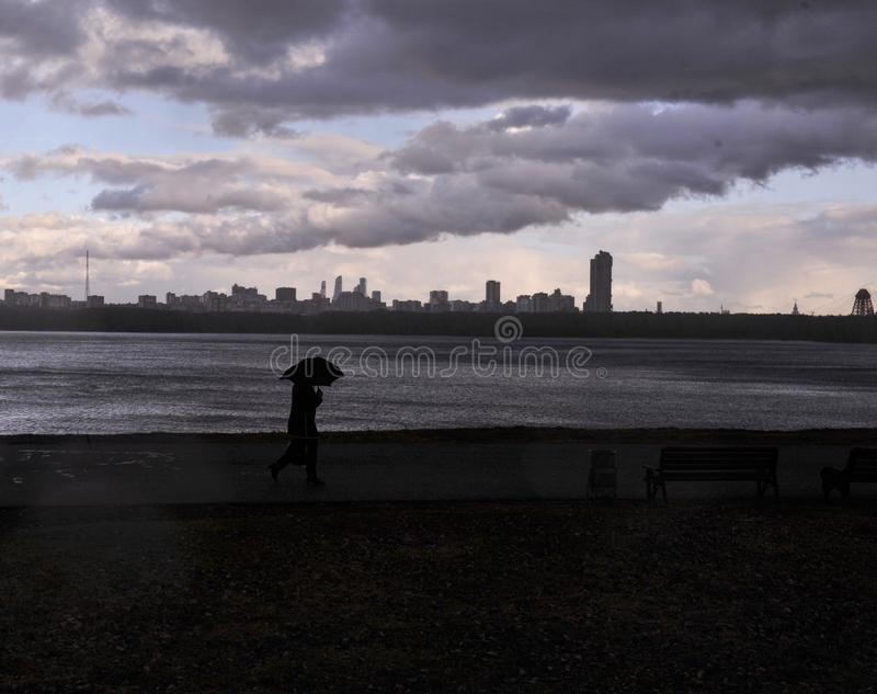 stormy immagine stock