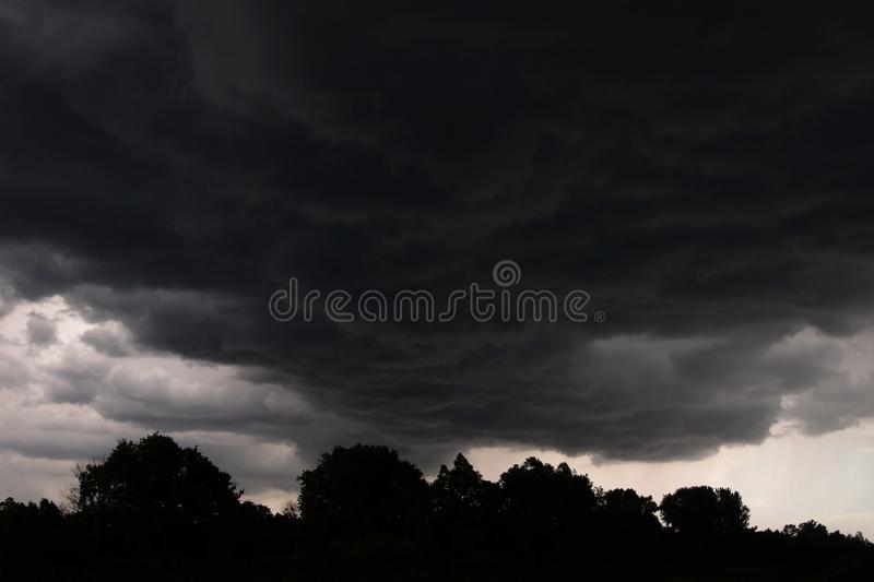 Download Stormy clouds stock image. Image of cumulus, clouds, rain - 24339865