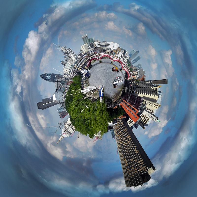 Stormy London Planet royalty free stock photos