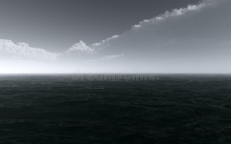 Stormy Ocean royalty free stock photos