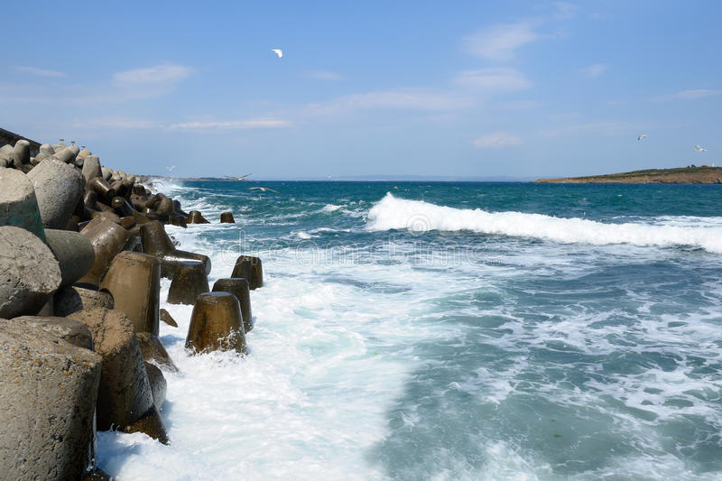 Download Stormy Sea Royalty Free Stock Photo - Image: 21060775