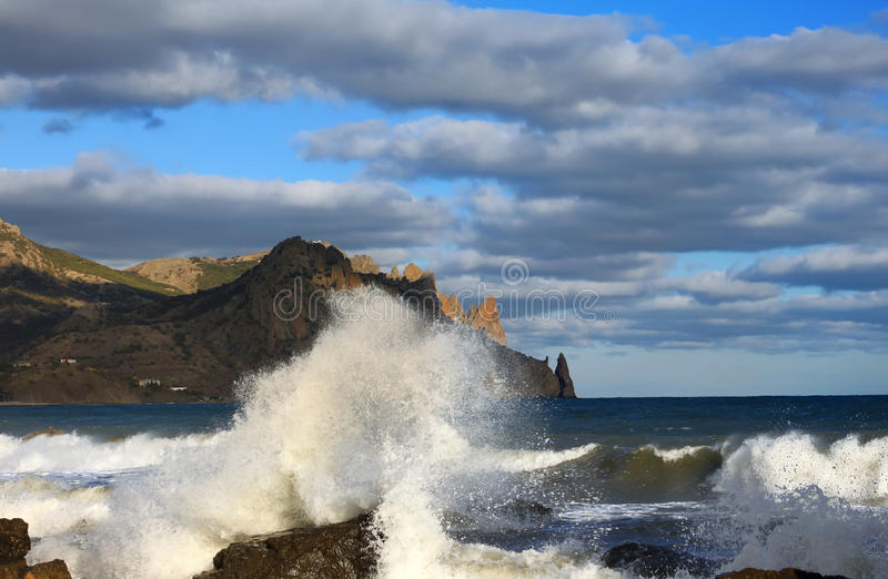 Download Stormy sea stock image. Image of romantic, shore, peaceful - 22340393