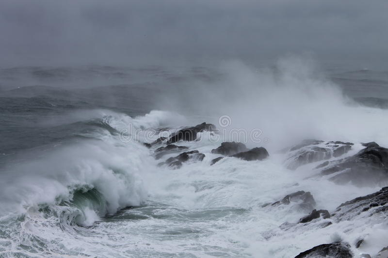 Download Stormy Seas stock image. Image of frothy, island, foam - 36025085