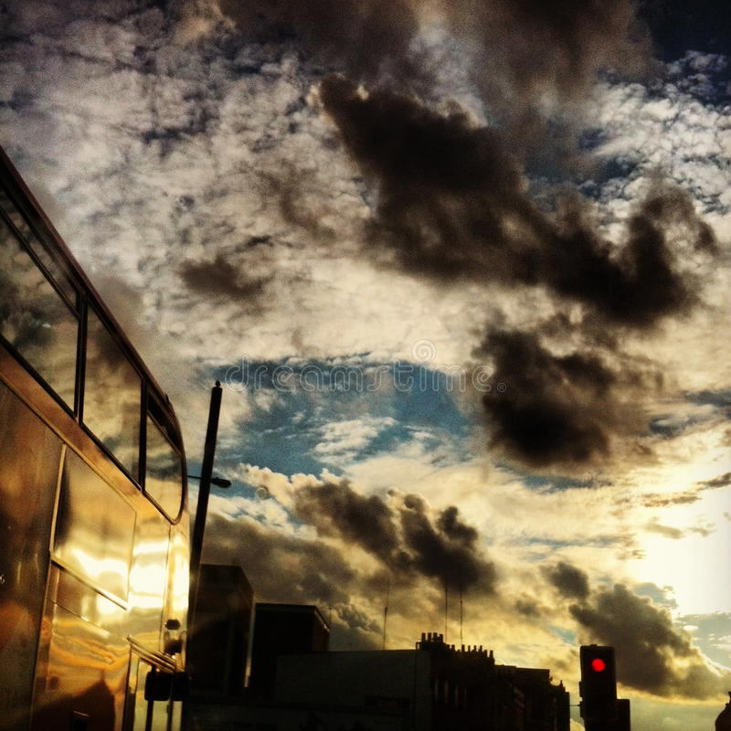 Download Stormy Skies In London's East End Stock Photography - Image: 28634072