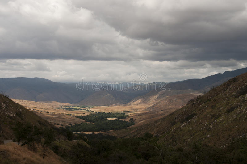 Download Stormy Skies Over Pamo Valley Stock Photo - Image: 76634586