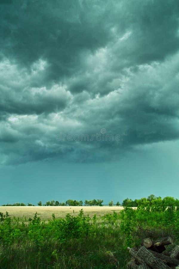 Stormy sky royalty free stock photos