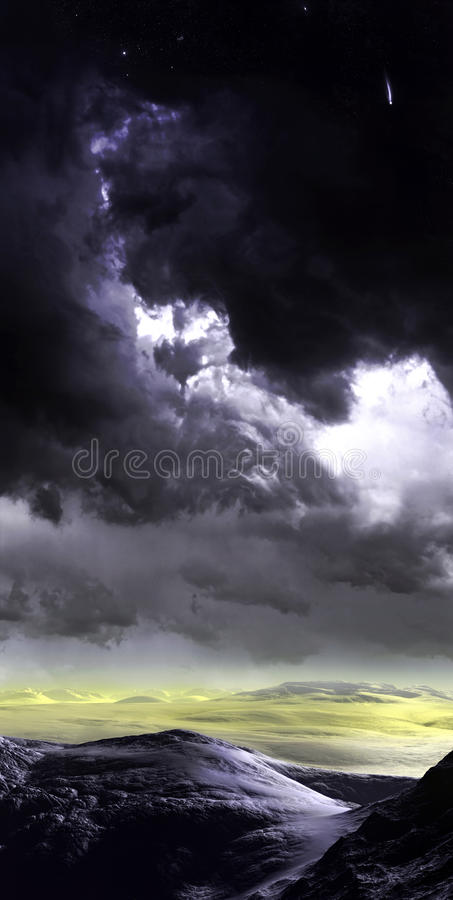 Stormy Sky royalty free stock photography