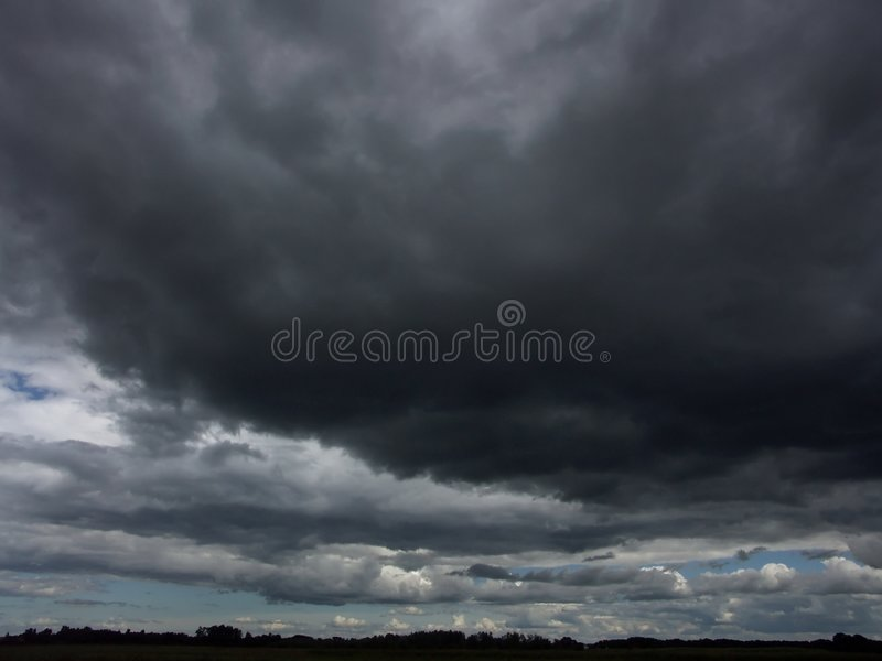 Download Stormy sky stock image. Image of stormy, skies, dark, blue - 70483