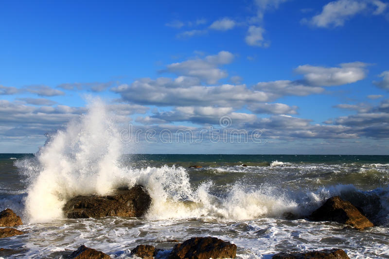 Download Stormy tropical sea stock photo. Image of colorful, calm - 22340414