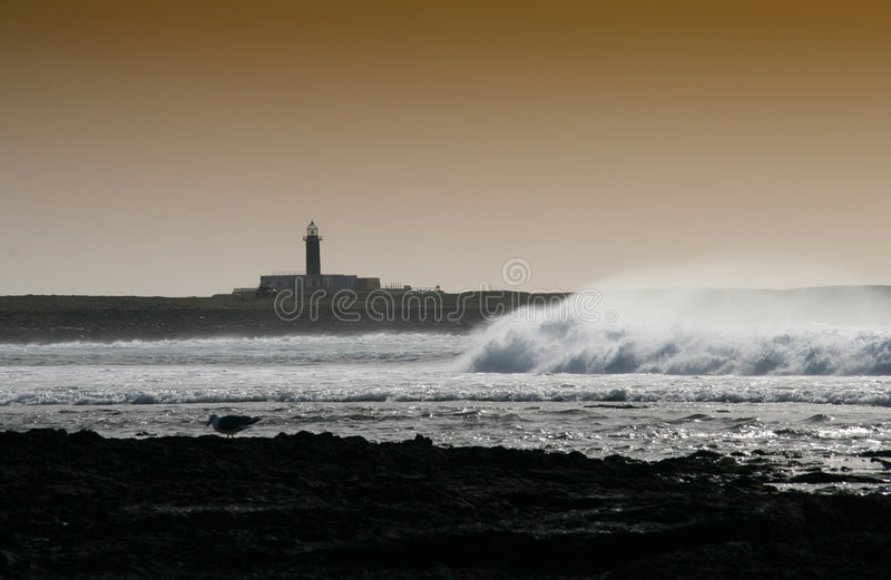 Download Stormy Weather stock image. Image of seashore, navigation - 1741493