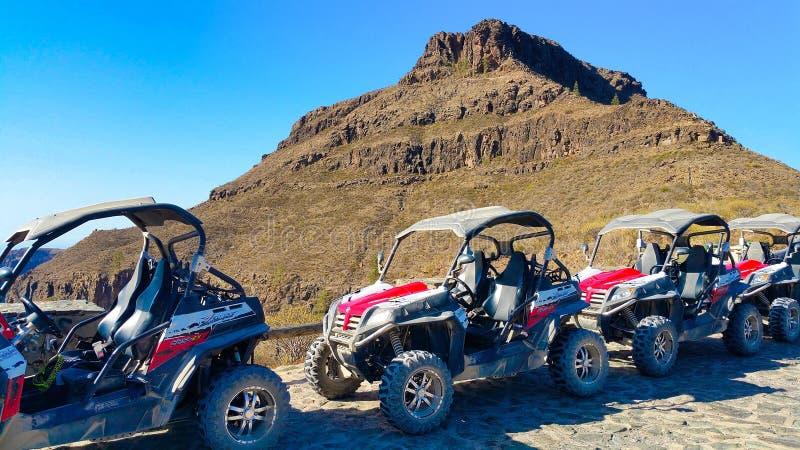 Storslagen Canaria barnvagn 4x4 royaltyfri bild