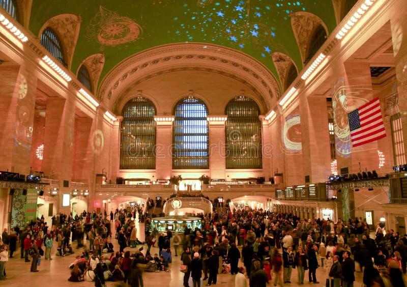 Storslagen centralstation, New York City royaltyfri fotografi
