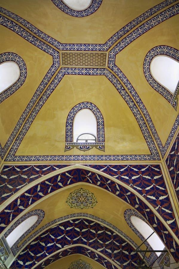 storslagen istanbul för basar kalkon arkivbilder