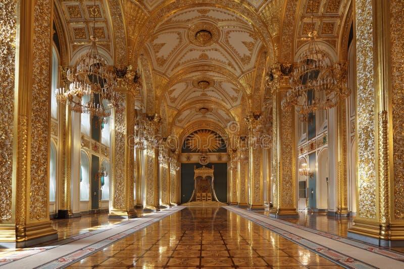 Storslagen Kremlin slott royaltyfri fotografi