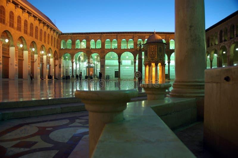 storslagen moskéumayyad royaltyfri fotografi