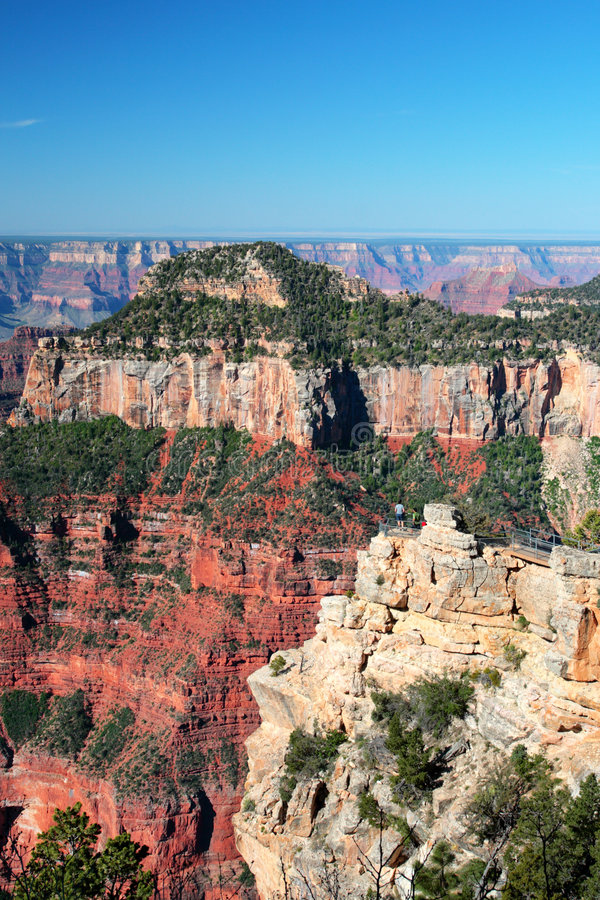 storslagen nationalpark USA för kanjon royaltyfri foto