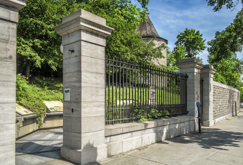 Storslagen séminaire de Montréal royaltyfria foton