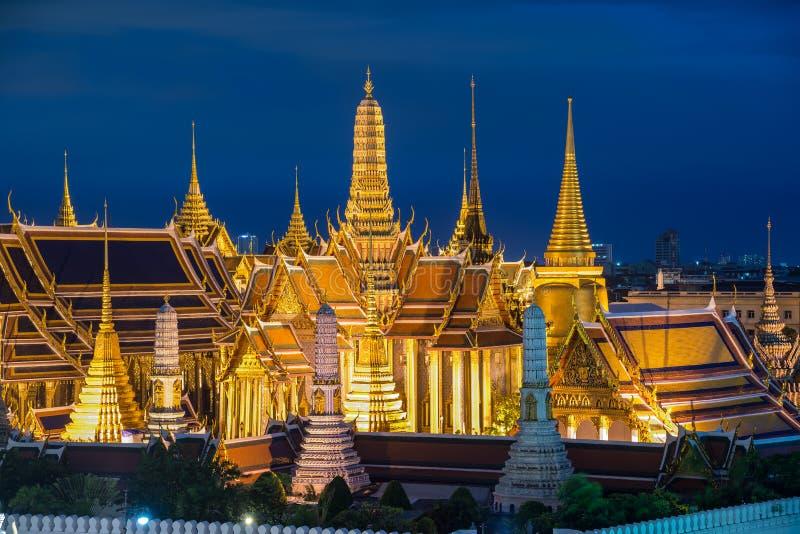 Storslagen slott, Bangkok, Thailand royaltyfri foto