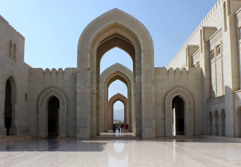 storslagen sultan för moskémuscatqaboos fotografering för bildbyråer