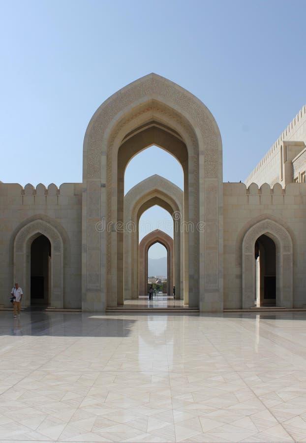 storslagen sultan för moskémuscatqaboos royaltyfri bild