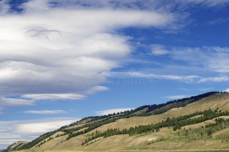 Storslagen Teton nationalpark royaltyfri bild