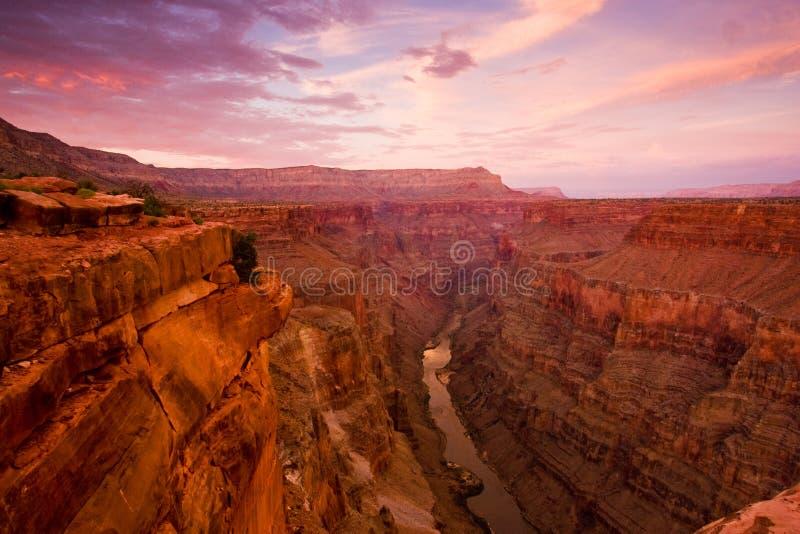 storslagen toroweapsikt för kanjon arkivbilder