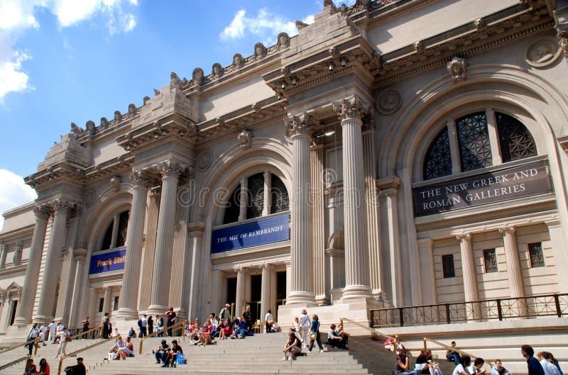 storstads- museumnyc för konst royaltyfria foton