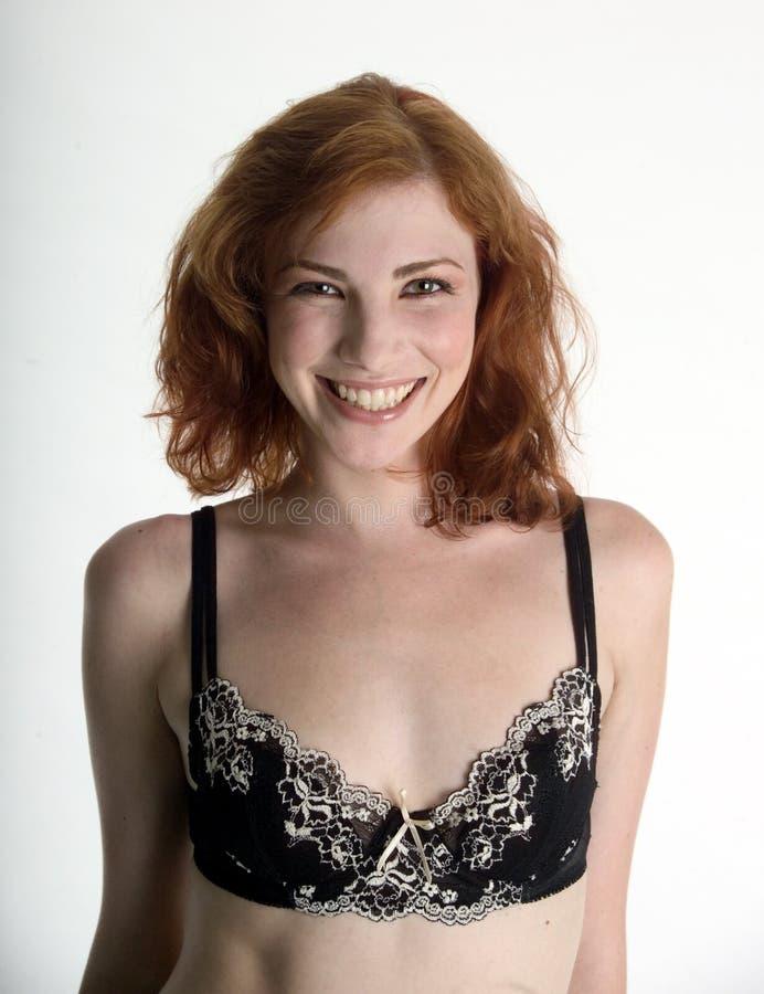Download Stort älskvärt Redheadleende Fotografering för Bildbyråer - Bild av redhead, nätt: 247571
