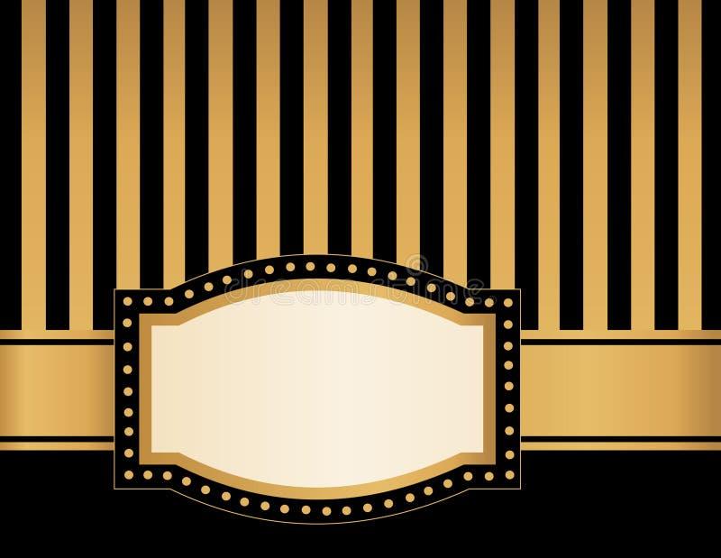 Stort festtältram royaltyfri illustrationer
