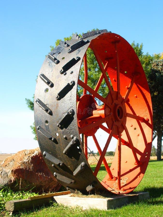stort hjul arkivbild